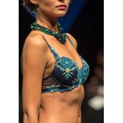 Soutien-gorge push-up Secret Turquoise Lise Charmel